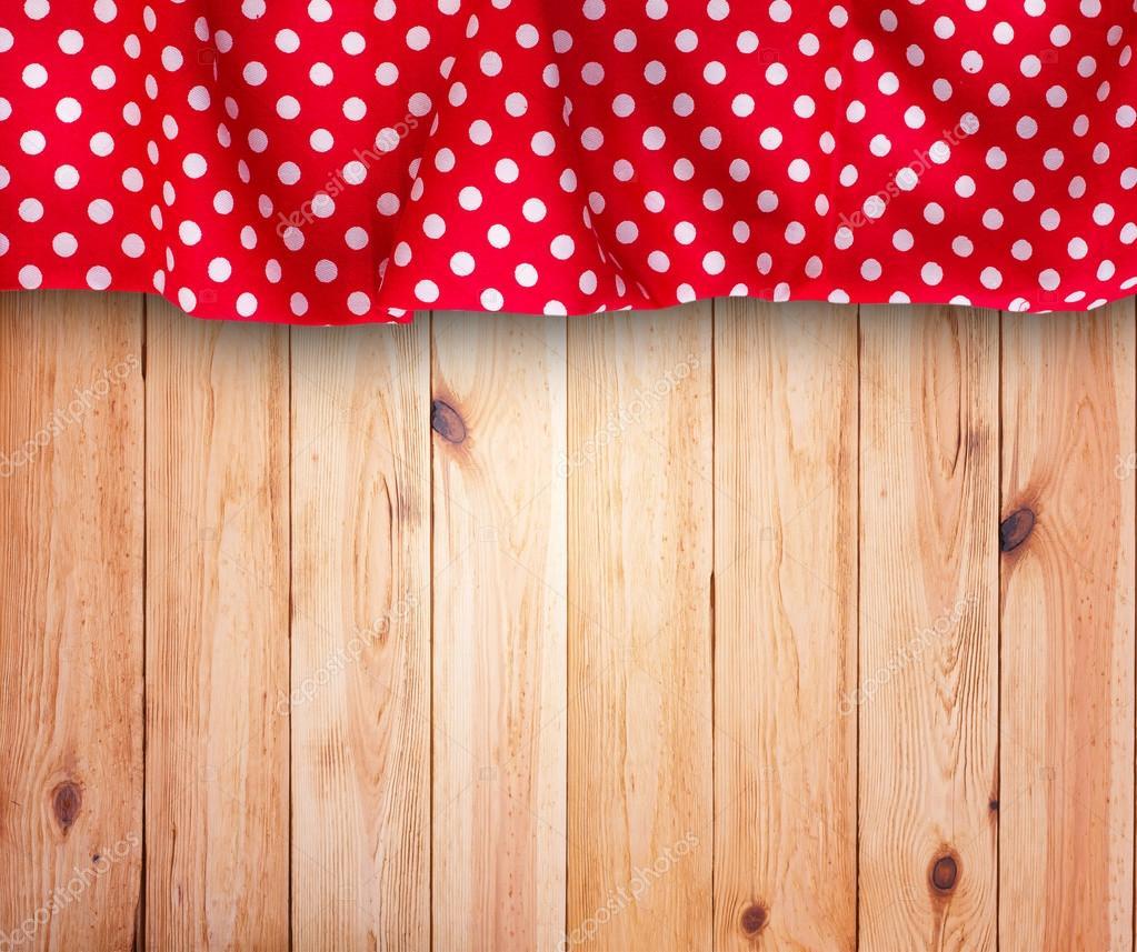 Mantel y fondo de textura de madera  Foto de Stock