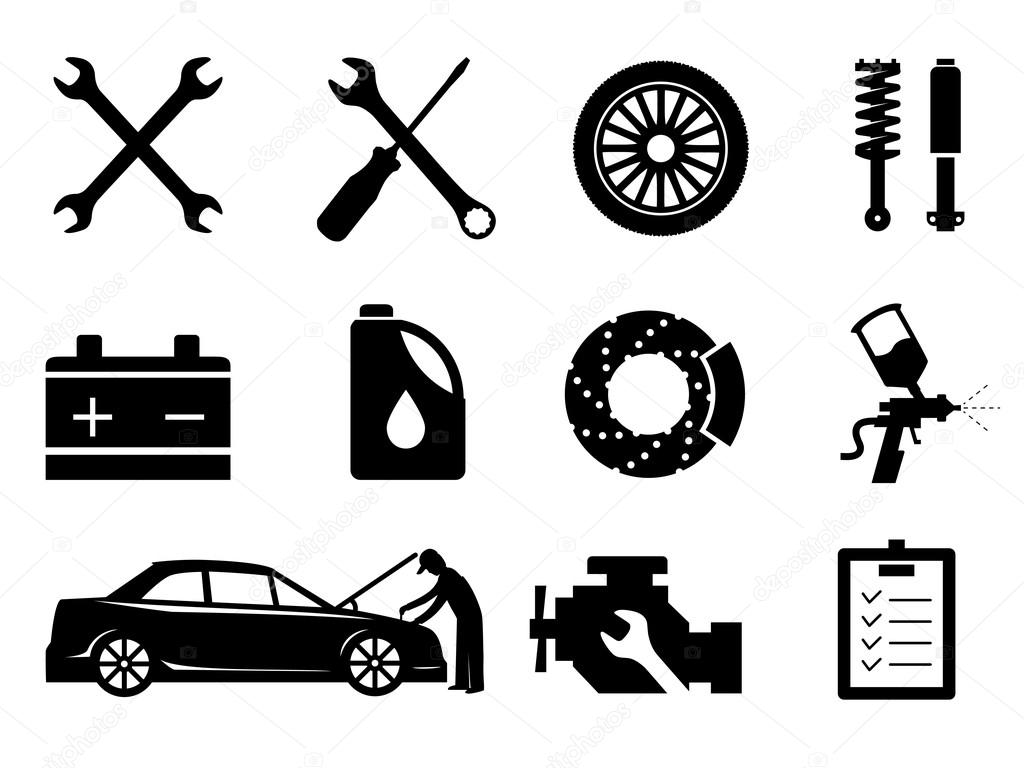 Car Ac Icons