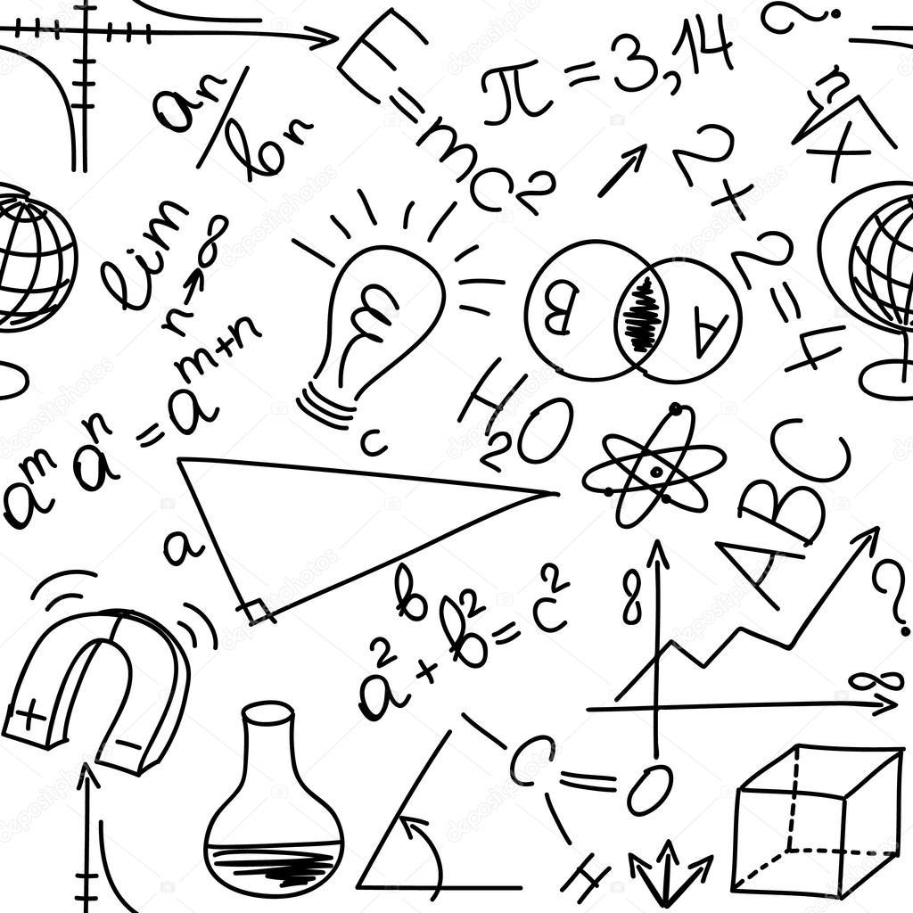 Matemáticas y físicas de las ecuaciones y fórmulas, backg