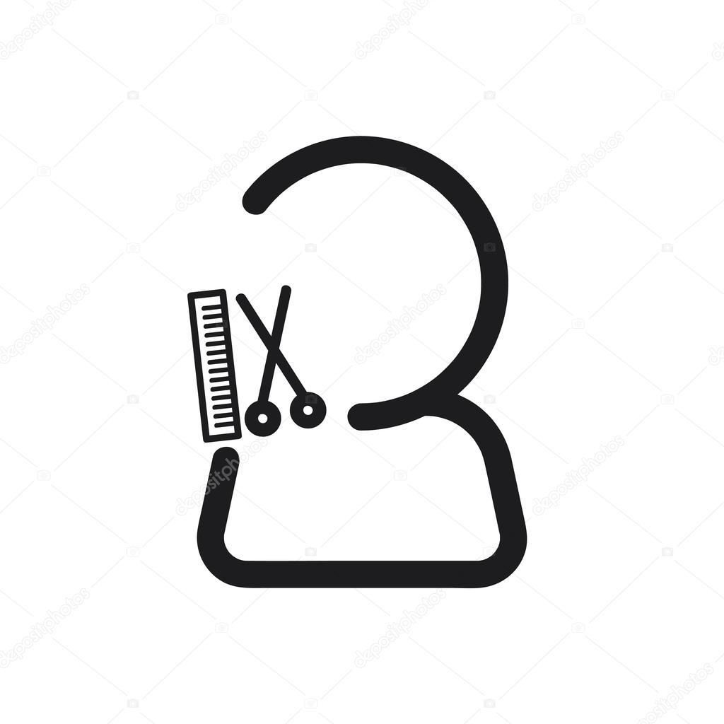 Friseur Symbol  Friseur