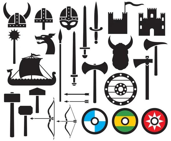Longboat Stockvectors, rechtenvrije Longboat illustraties