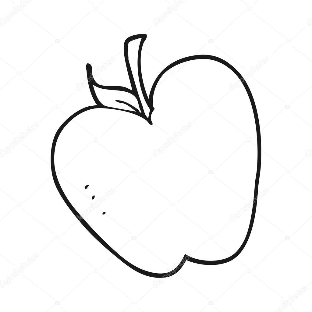 Ma De Preto E Branco Dos Desenhos Animados Vetores De Stock