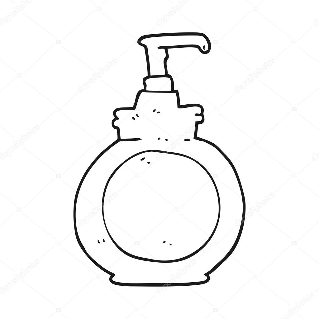 Clipart Washing Hands Black And White