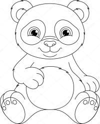 Imagenes De Oso Panda Para Colorear