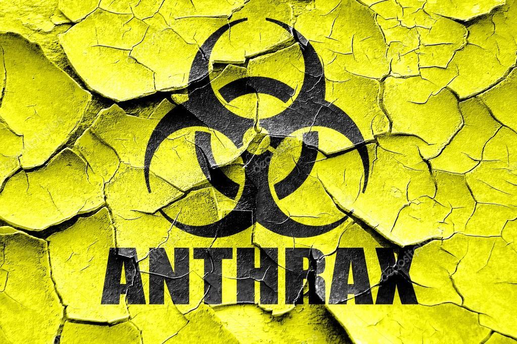 Imágenes: del simbolo antrax   Grunge agrietado fondo de ...