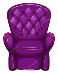 Un semplice disegno di una sedia colorato  Vettoriali ...