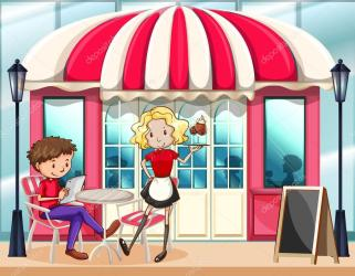 ᐈ Outside cartoon stock images Royalty Free cafe outside cartoon vectors download on Depositphotos®