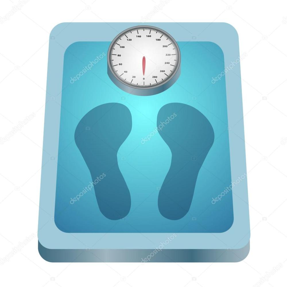 medium resolution of clip art image of a weighing scale with footprints vector by kozzi2