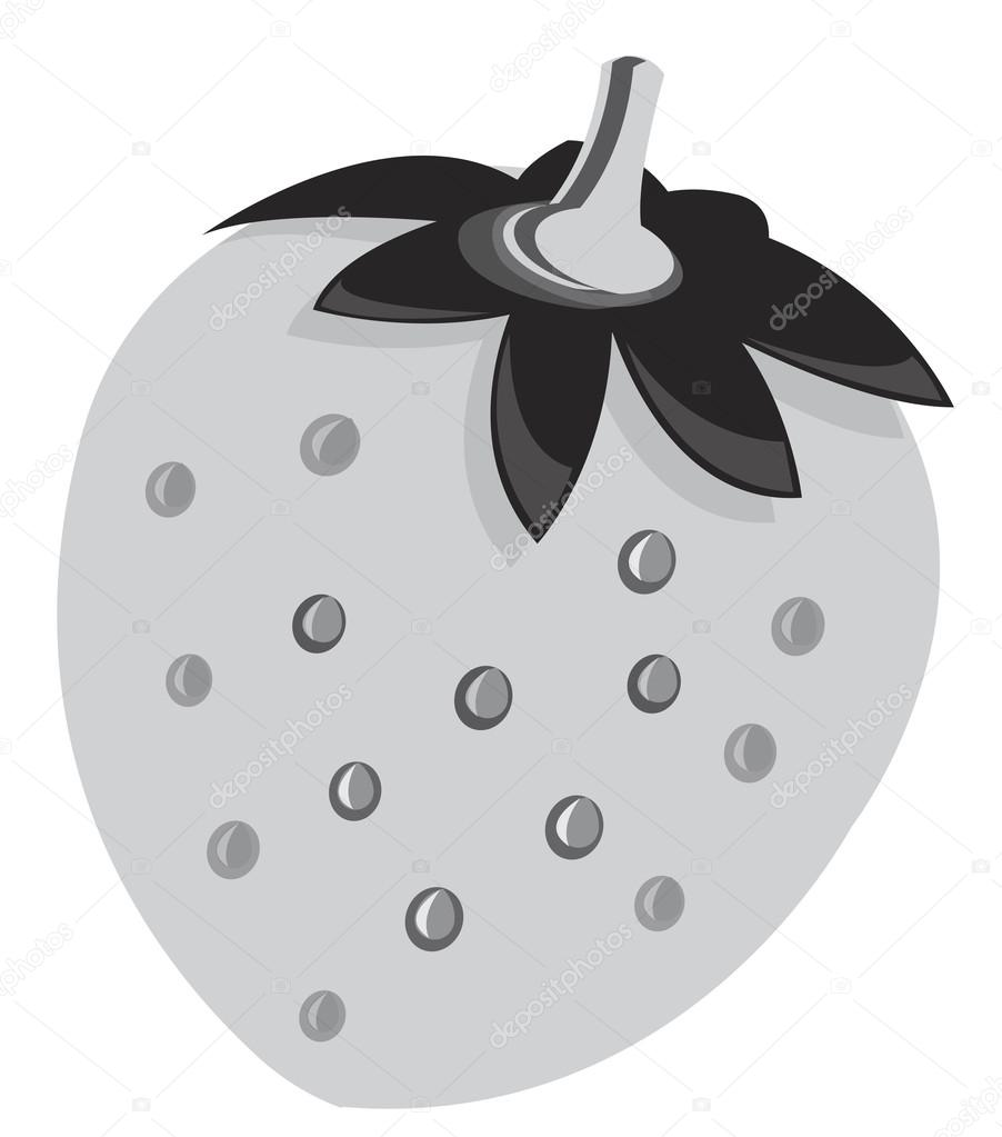 hight resolution of strawberry vektor clipart illustration stock vektor
