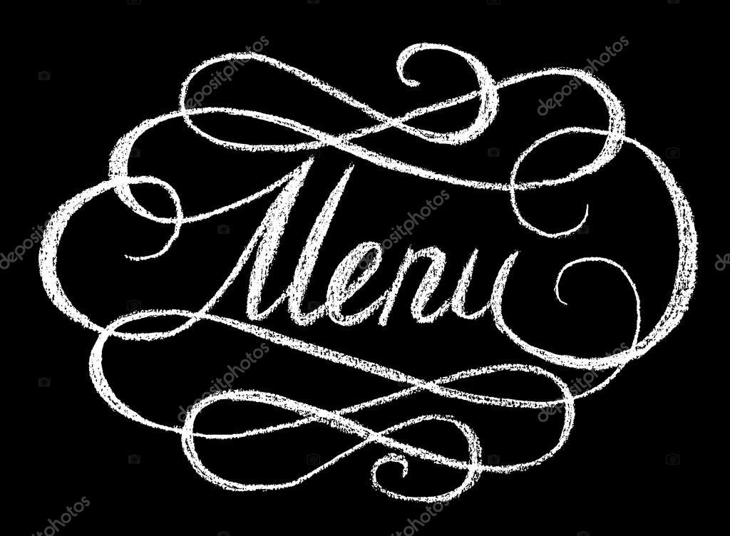 menu Word  Vettoriali Stock  Prikhnenko 76792847