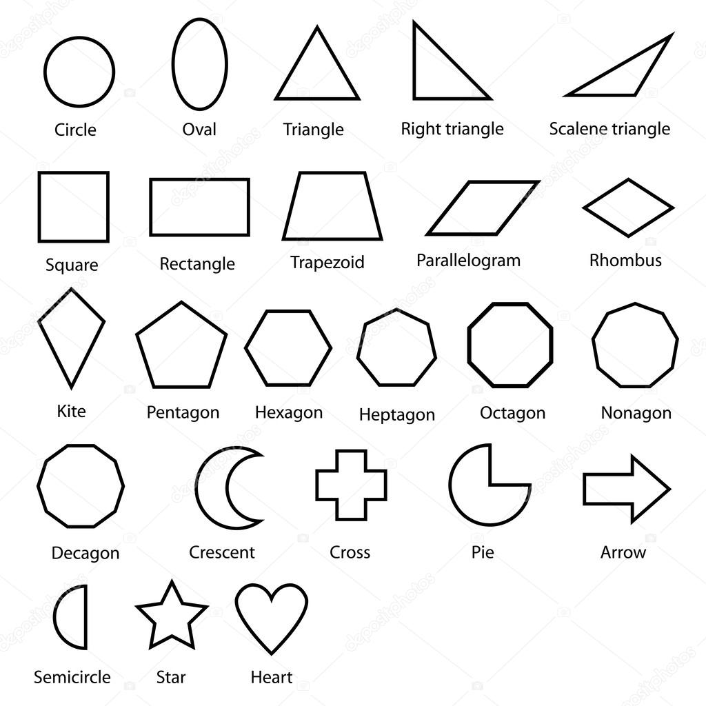 Shading Geometric Shapes Worksheet