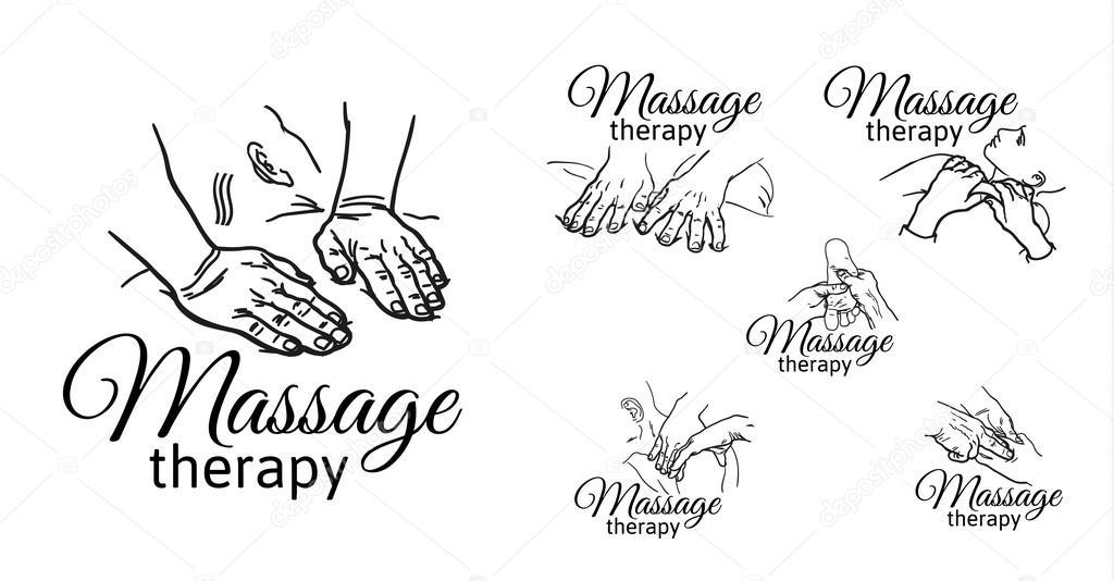 Massagem terapêutica manual. Terapêutica médica