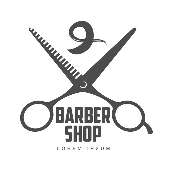 ᐈ logotipo barber shop