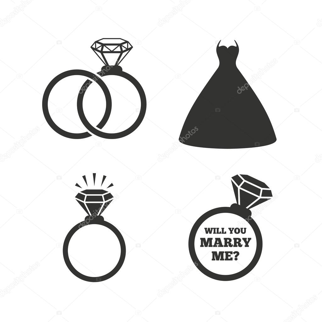 Bride And Groom Symbols