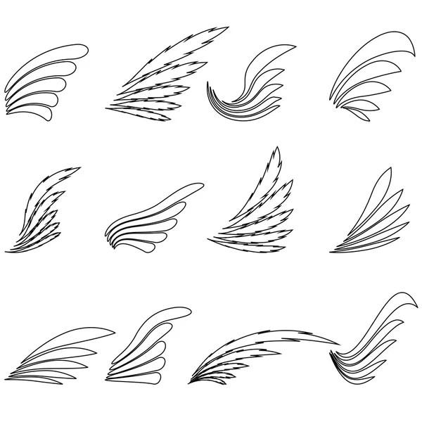 Vector Phoenix National Russian Bird Logo Emblem isolated