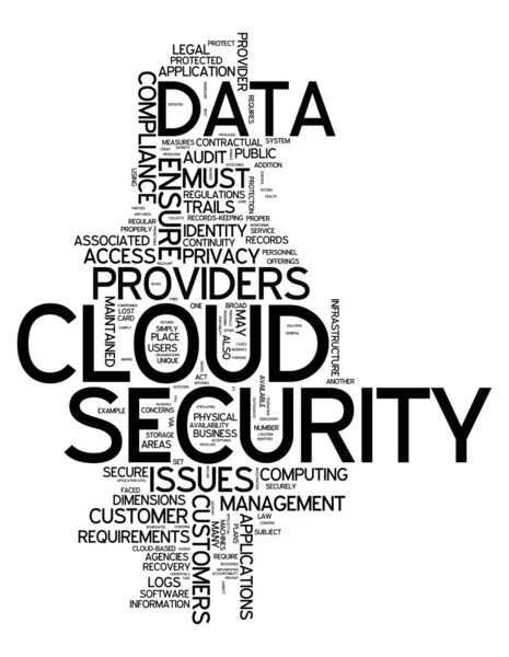Word Cloud Security — Stock Photo © mindscanner #42815485