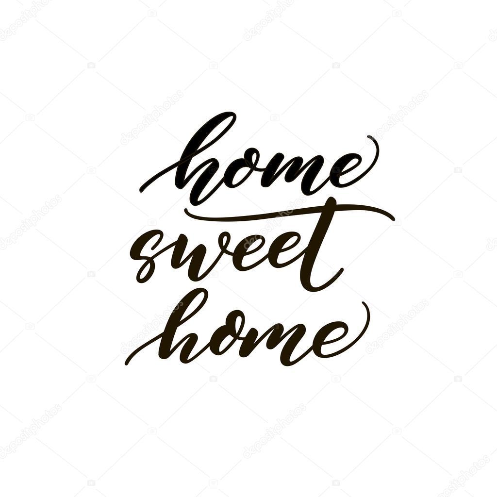 Frase De Home Sweet Home