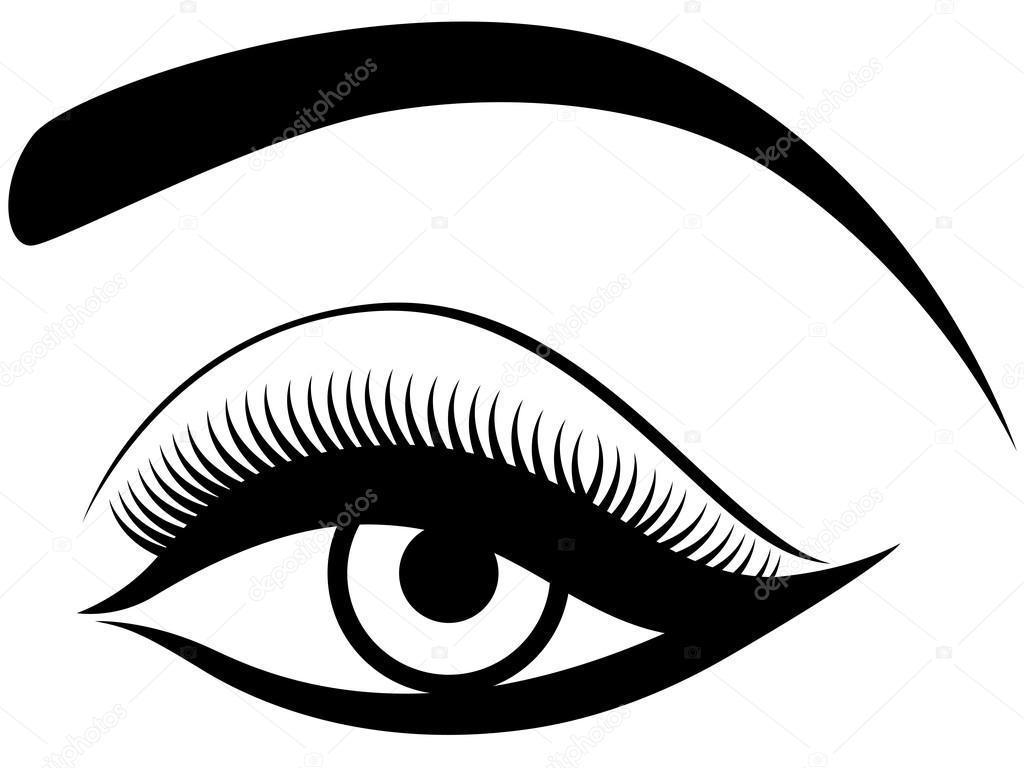 Ojos Con Parpados Suaves