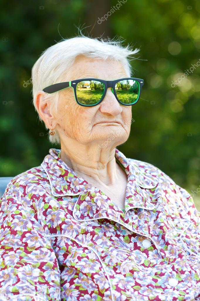 Funny Old Lady Pics : funny, Funny, Stock, Photo,, Image, Ocskaymark, #81870972