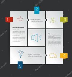 diagramma di box per il infographics modello del diagramma di web schema di vettore [ 1024 x 1024 Pixel ]