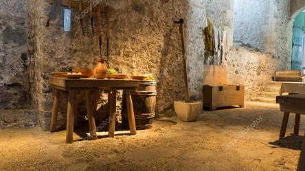 Medieval house interior The interior of a medieval house Stock Photo © Slivoncik #121352846