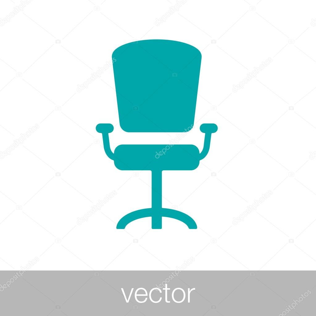 office chair illustration folding tent modern vector graphic stock concept flat style design icon by mr designer