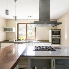 Chrome Kitchen Chairs Narrow Countertops 对于现代完美主义者明确厨房空间 图库照片 C Photographee Eu 121676774
