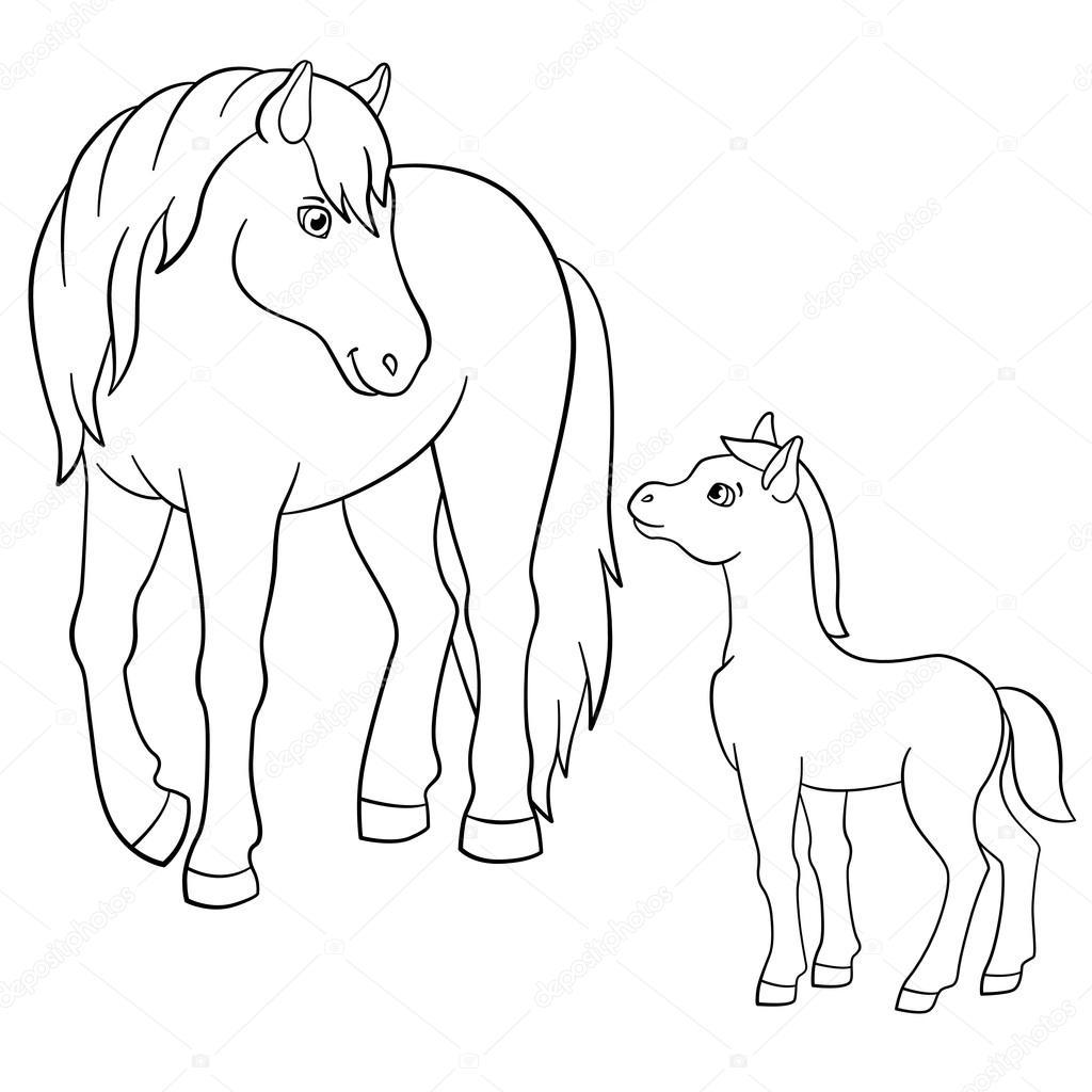 Obrazki Do Kolorowania Zwierz Ta Gospodarskie Matka