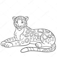 Jaguar Para Colorear Para Jaguar 9 Para Jaguar Dibujo Para