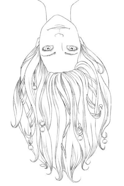 Teenage Girl Sketch : teenage, sketch, Drawing, Teenage, Stock, Drawings,, Royalty, Teenager, Download, Depositphotos®