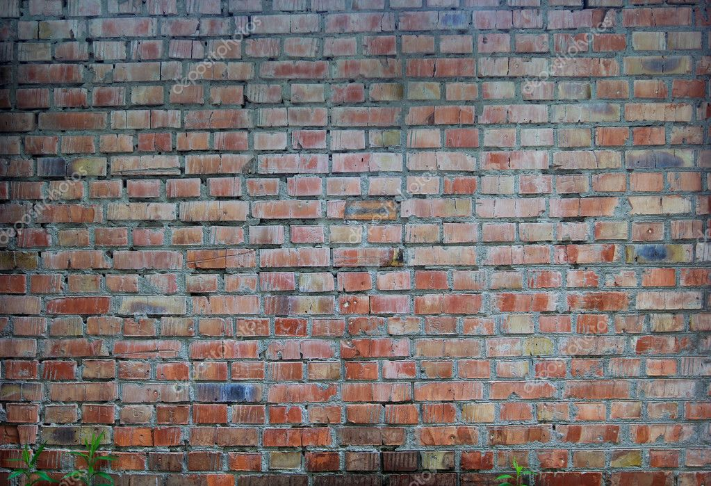brick industrial wall for