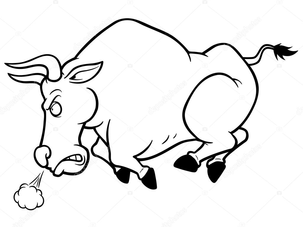 Bull — Stock Vector © sararoom #63552065