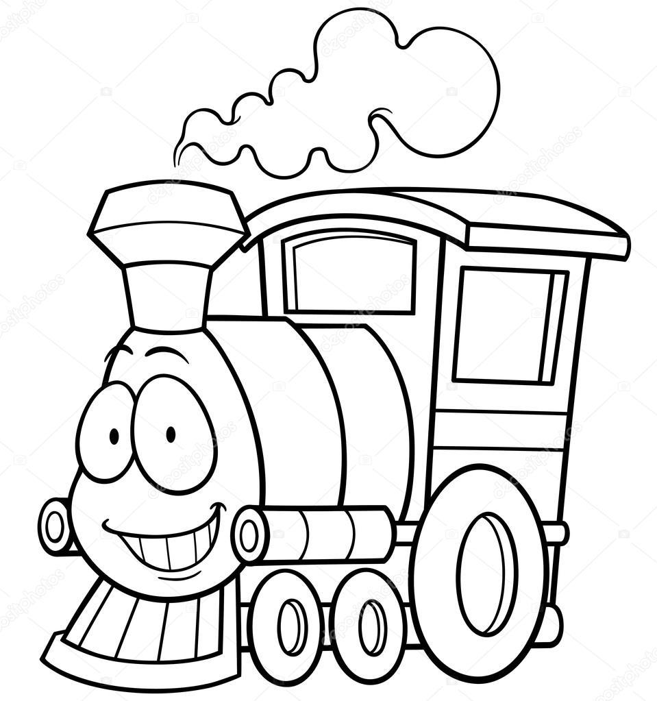 Train — Stock Vector © sararoom #77100629