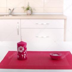 Kitchen Countertop Decor Premade Cabinets 厨房台面装饰 图库照片 C Budabar 91269768