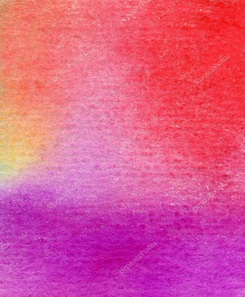 grunge fondo acuarela en colores fuertes  Fotos de Stock