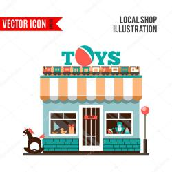 toy icon vector retail game gift illustration background business isolated cartoon flat sign childhood symbol market clipart simple collection clip
