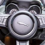Luxury Car Steering Wheel Logos Logo Of Jaguar On Steering Wheel Stock Editorial Photo C Nanhatai8 113542428
