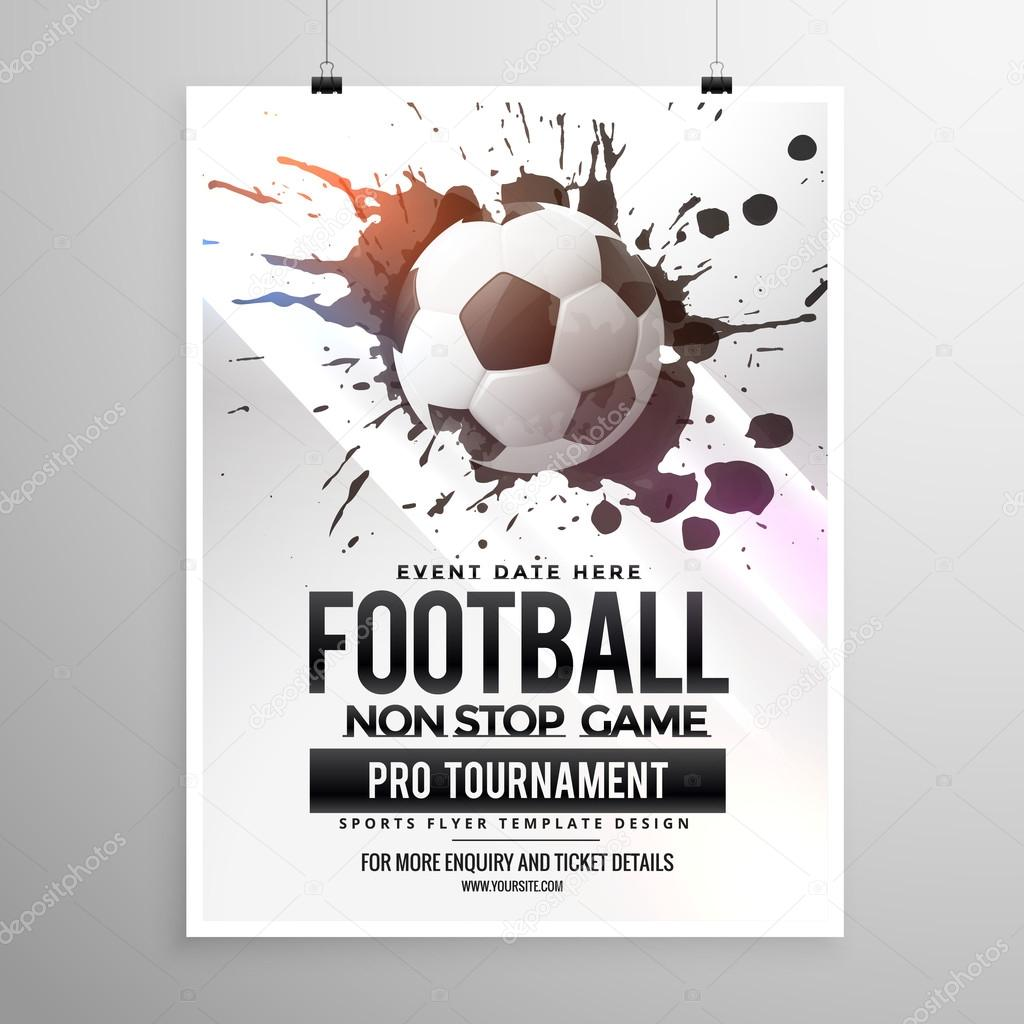 Football Flyer Template ] | Football Flyer Template, Football Flyer ...