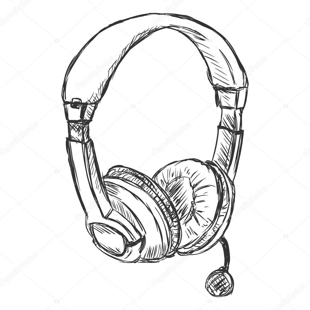 Circumaural Kopfhorer Mit Mikrofon