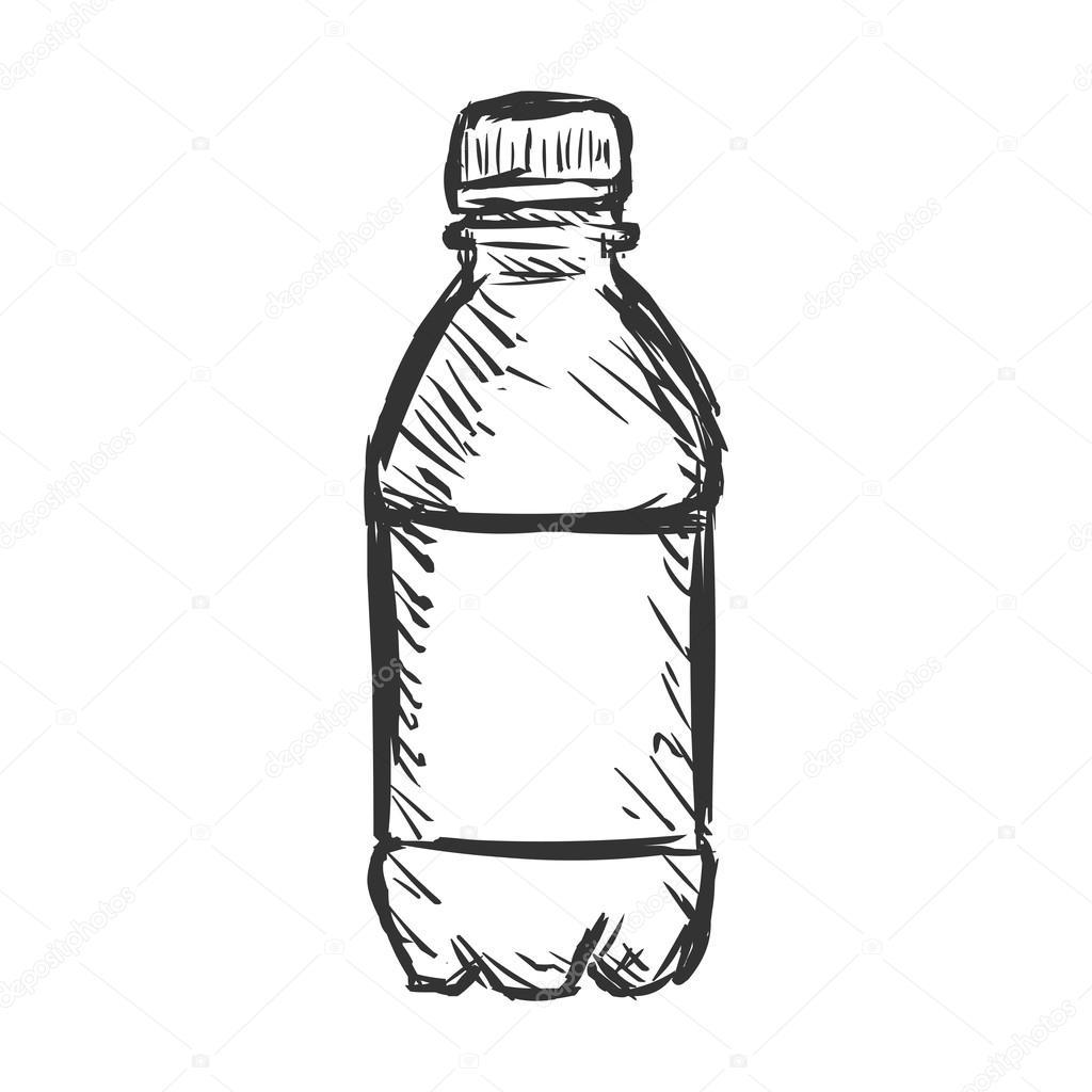 Bottle of Water — Stock Vector © nikiteev #62980517