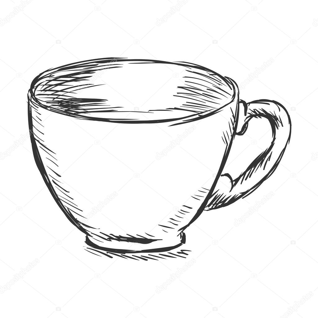 Image Result For How To Draw A Cup Of Coffee Step By Step