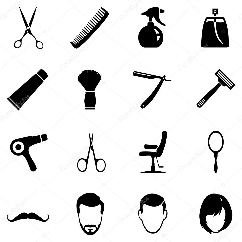 Barber Shop Icons