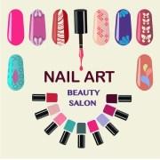 nail stock vectors royalty free