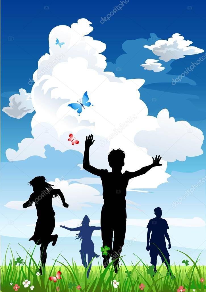 Family Background Images : family, background, images, Happy, Family, Background, Vector, Image, Paprika_, Stock, 78818134