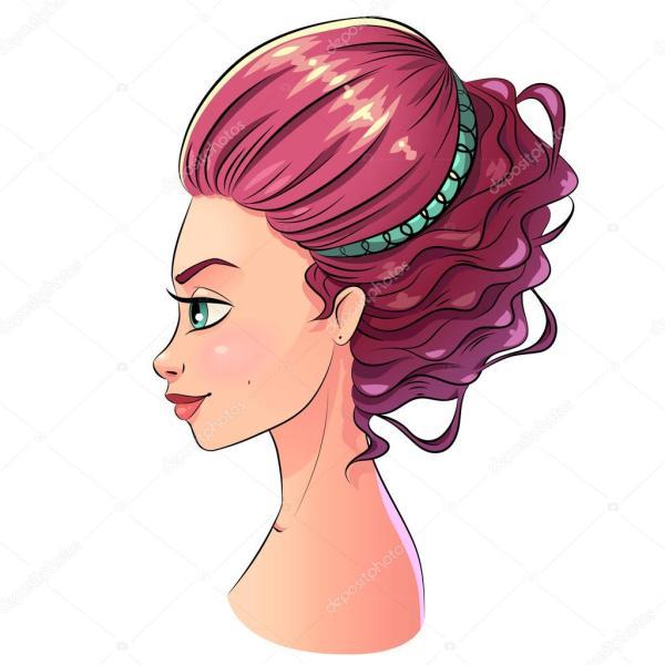 Konst Vackert Stil Flicka Stende Ljusa Pastell Rg