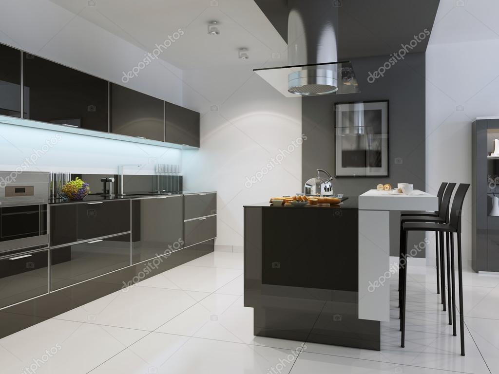 island kitchen ideas outdoor stainless steel cabinet doors 厨房技术风格的想法 图库照片 c kuprin33 83413954