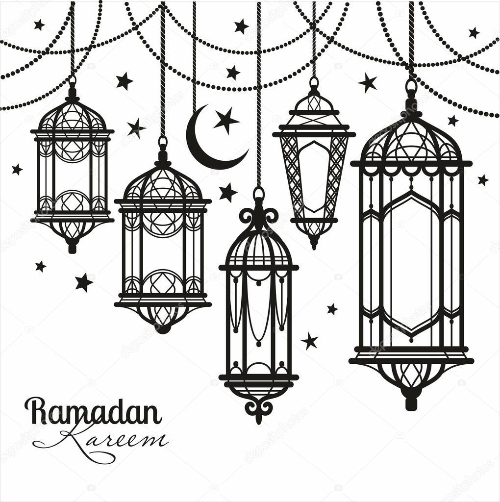 Ramadan Kareem background. — Stock Vector © olgamilagros