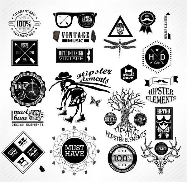 road trip quote collection black and white — Stock Vector