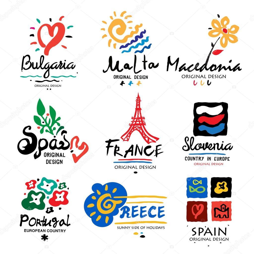 European Soccer Logos Logos Of European Countries Stock