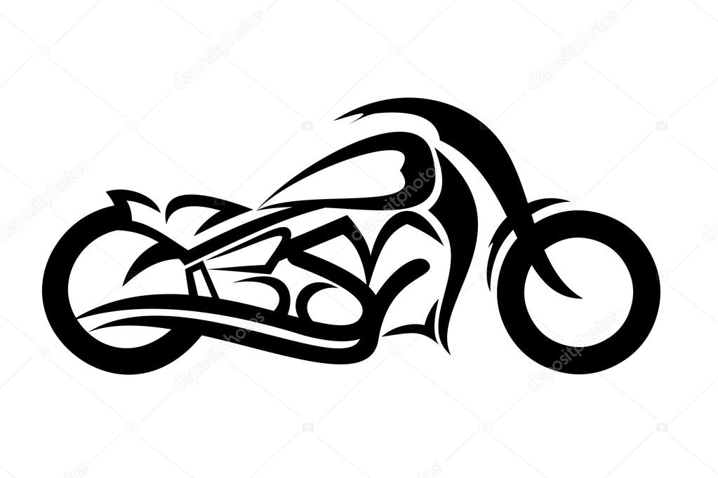 Motorcycle sketch — Stock Vector © fxm73 #64000085